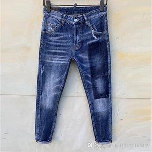 Designer Pants Mens Designer T Shirts Mens Slim Denim ItalyFashion street card jeans pour hommes Straight Biker Skinny Jeans Men
