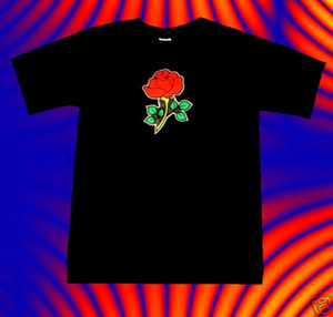 Rose LED Leucht Light Equalizer-T-Shirt