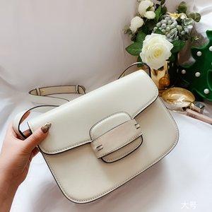 G caliente 1955 del diseño del bolso de la silla de montar 2020 crossbody bolsa de última moda mujer bolsa de bocado carta femenina bolsa de aleta impresión Shoulde masculina 602204