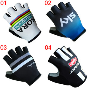 2020 Men GIANT Bicycle Gloves RAPHA Sports Half Finger Anti Slip Gel Pad Cycling Gloves BORA High Quality Motorcycle Mtb Road Bike Glove