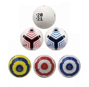 20 21 Лучший матч качество Футбольный мяч 2020 размер 5 шариков гранулы скольжению футбол Бесплатная доставка высокого качества мяч