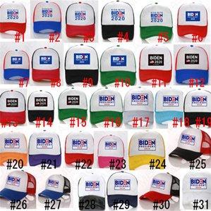 BIDEN Président 2020 balle Hat USA BIDEN Letters Baseball Caps Hommes Femmes d'été Mesh Patchwork Cap d'extérieur Chapeau de soleil de sport Peaked Chapeaux D7610