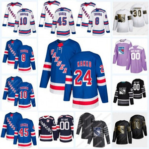 24 Kaapo Kakko New York Rangers 2020 Jacob Trouba Artemi Panarin Mika Zibanejad Chris Kreider Lundqvist Shattenkirk Brady Skjei Jersey