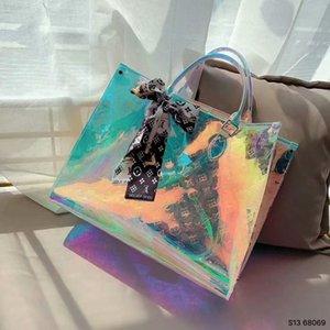20SS New Design backpack for women Handbags lucency Shoulder Bag Crossbody Designers lady PVC Handbags Purses Women shopping bags Totes