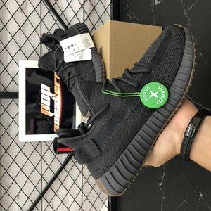 2020 de calidad superior Kanye West Hombres Mujeres zapatos para correr Cinder Yecheil Bred Oreo Desert Sage Tierra lino Asriel cebra Entrenadores zapatillas de deporte con la caja