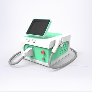 Depilación láser belleza máquina portátil de alejandrita máquina de depilación láser de 755nm diodo 808nm permanente depilación láser para el cuidado de la piel