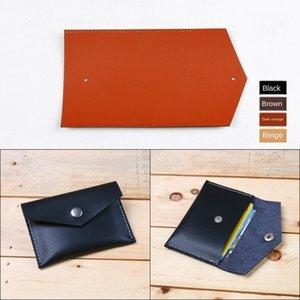 Tarjeta bdbNM monedero billetera Diy carpeta de la tarjeta diy bolsa de cuero hecho a mano haciendo actividad de construcción producto grupo de diseño semi-acabado b material de