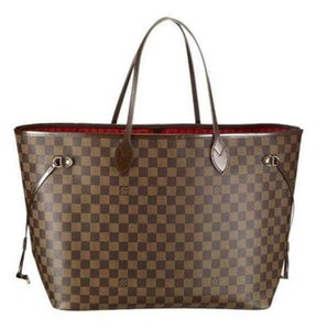 N51106 Gm Plaid Shoulder Bag Handbags Top Oxidized Real Leather Iconic Bags Totes Cross Body Business Messenger Bags