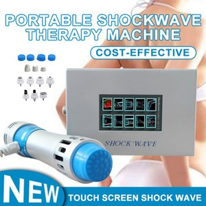 Professional Shockwave Therapy Machine Air Pressure 8 Bars Shock Wave Equipment Acoustic Wave Extracorporeal Joint Pain Relief Spa Salon Use