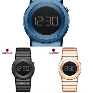 KADEMAN quente novo K9052 KADEMAN nova elegante medidor de relógio das mulheres à prova de água metros K9052 relógio à prova de água quente de mulheres elegantes