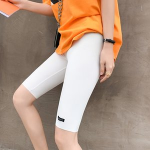 5yLqb Five-point cycling new Bicycle car pants car pants women's nylon quick-drying toothpick strip slim five-point leggings children's summ