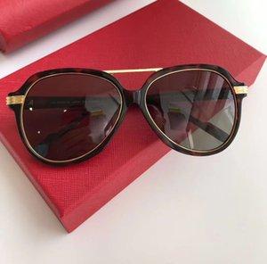 Classic Pilot Sunglasses 0159S Black | Grey Gold Grey Lens Men Fashion Sunglasses occhiali da sole with box