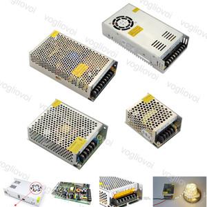 Beleuchtungsstransformatoren Switch Treiberausgang DC24V 240W 360W 500W 110-240V Aluminiumzubehör für LED-Streifen Lichter Module DHL