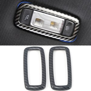 Car Accessories Back Rear Reading Light Panel Lamp Cover Frame Sticker Trim Interior Decoration for BMW X3 G01 X4 G02 2018-2020