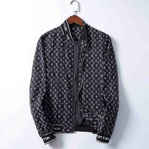 Medusa mens Jacket Windbreaker Long Sleeve Mens Jackets Hoodie Clothing Zipper With Animal Letter Pattern Plus Size Clothes M-3XL