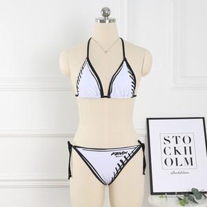 Kadın Mayo 2020 Bikini Sexy Geri Yüzme Suit Yeni Desen Derecesi Çiçek Renk marka Sandy Beach Bikini Mayo baskı Ortaya