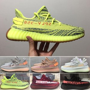 Newest V2 Static Clay Sesame True Form Hyperspace Men Women Running Shoes Kanye West Beluga 2.0 Orange Bred sports Sneakers 36-45 ERT5H