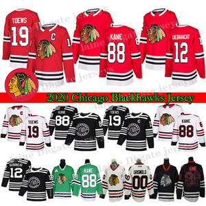 Чикаго Blackhawks Jersey19 Джонатан Тоуза 88 Патрик Кейн 2 Дункан Кейт Кларк Грисволльд Брэндон Саад 50 Кори Кроуфорд Хоккей
