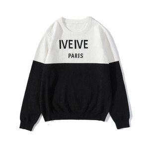 20FW Letters Embroidery Mens Women Sweaters Fashion Men Hoodies New Arrival Pullover Sweatshirt Men Clothing Size M-2XL