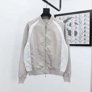 2020ss primavera e algodão novo alto grau de verão impressão de manga curta rodada painel pescoço t-shirt Tamanho: m-l-xl-XXL-XXXL Cor: 0q12q preto branco
