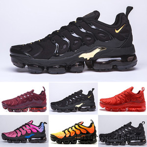 New Arrivals chaussure TN Plus running Shoes tn Men Outdoor Run Shoes Black White Trainers Hiking Sports Athletic Sneakers EUR40-45 B2L6U