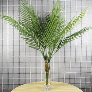 1pcs 75cm artificiels en plastique plantes artificielles feuilles Queue Scattered Plantes maison Green bonsaïs 6XVV #