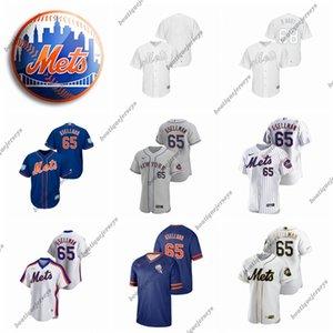 Men Women Youth New YorkMets65 Robert Gsellman #00 Home 2020 Custom Jerseys baseball Jersey