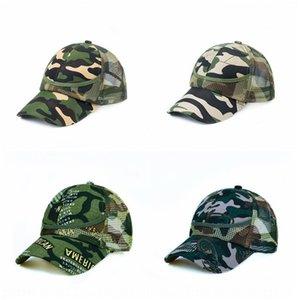 Camouflage parent-child children's net hat male and female children's cap baseball cap baby's outdoor leisure sun hat baseball capcap
