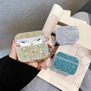 Bling Luxury Glitter Case For Airpods Pro Case Candy Colors Girl Protective Cover For Airpods 2 Sequins Earphone Cases