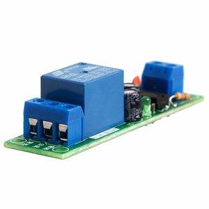 0-60 Sekunden Timer-Schalter JK02B DC Einstellbare Verzögerung 5 / 12V Eingangsrelaismodul