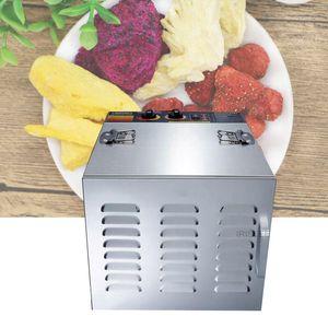 Food aço inoxidável Desidratadores para Home Dried Fruit Machine Fruit and Vegetable Desidratação Secador de ar Pet 10 Layers Secador de Alimentos