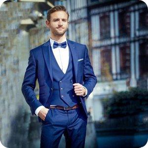 Classic Peak Lapel tuxedos groom wedding men suits mens wedding suits tuxedo costumes de pour hommes men(Jacket+Pants+Tie+Vest) W153