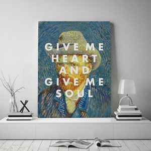 Modular Canvas Vincent Willem Van Gogh Prints Pictures Wall Art Classical Painting Home Decor Self-portrait Posters For Bedroom