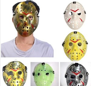 New Jason Voorhees Mask Friday the 13th Horror Movie Hockey Mask Scary Halloween Costume Cosplay Festival Party Mask GB857