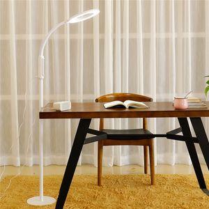 Nordic Marmo moderna lampada da terra Soggiorno Bedside pesca Deco da posizionare sul pavimento della lampada LED bianco di illuminazione apparecchio nero