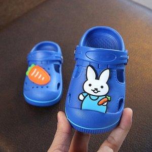 2020 Bebekler Sandalet Kayma Önleyici Erkekler Kadınlar Çocuk Plaj Bebek Gözenekli Ayakkabı Çocuk Terlik Yaz Çocuk Ayakkabı Toptan Rugh #