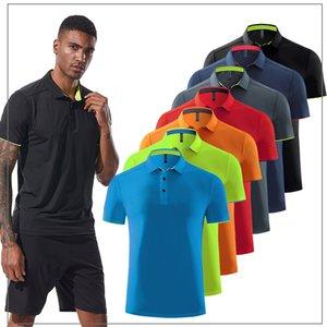 Classic T Shirt manica corta estate degli uomini casuale T-shirt solido traspirante lusso Tops cotone Tshirt maglie Golf Tennis Uomo