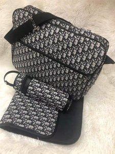 2020 High Mummy Bag Nursing Handbag Baby Diaper Bag with USB Interface Large Capacity Waterproof Nappy Bag Kits Mummy MaternityT1Rb#