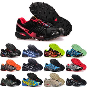 2020 Speedcross 4 IV CS Trail Running Shoes Mens Women Purple Pink Speed Cross Outdoor Hiking Athletic Sports Sneakers 36-46 sh