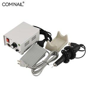 Мода маникюра Дрель Инструмент 65W 35000RPM Strong 90 Nail Drill Наборы электрическая машина для Nail Art Gel салон полировать
