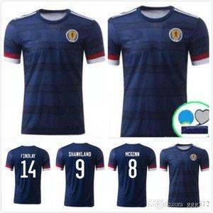 Free shipping newest Thai quality 2020 2021 Scotland Soccer Jerseys 2020 Scotland home man + kids FRASER 11 BURKE 9 football shirt