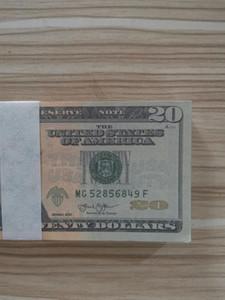 20 dollars faux Bill UK Pound plaqué or Banknote Angleterre papier Banknote argent décoratifs pour la maison Collecti1