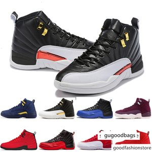 2019 sports Shoes 12 12s PRM International Flight wings TAXI Gym Red men Basketball shoes Trainers Sneakers size US 7-13