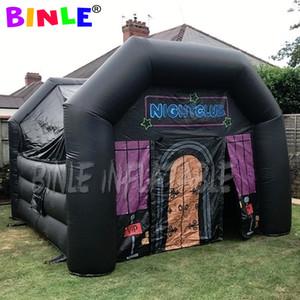 rectangle oxford personnalisé boîte de nuit gonflable, tente gonflable pub, salle de fête gonflable VIP avec souffleur d'air pour la danse disco