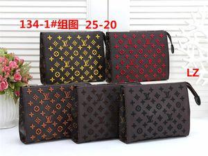 Hot sale Free Shipping Clutch bag Famous mens designer handbags purse high quality bag Fine workmanship
