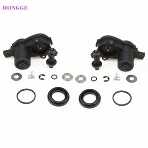 HONGGE 2 Set Rear Wheel Cylinder Brake Caliper Servo Motor + Repair Kit For A4 S4 A5 Q5 32335478 32326315 8K0 998 281A 8K0998281 kxBf#