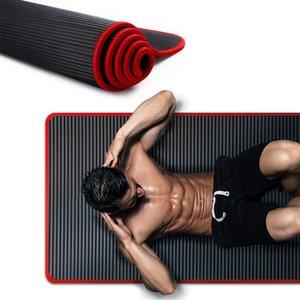 10mm Yoga Mat Extra Thick 1830*610mm NRB Non-slip Mat For Men Women Fitness Tasteless Gym Exercise Pads Pilates Yoga X1D