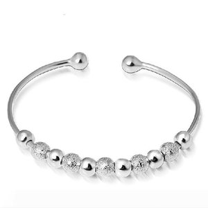 925 silver beads bracelet women lucky star slider bead bracelet fashion wholesale