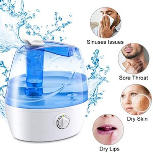 2.2L Quiet Ultrasonic Humidifiers, Air Humidifier for Bedroom, Ultrasonic cool mist humidifier to maintain the comfortable humidity level