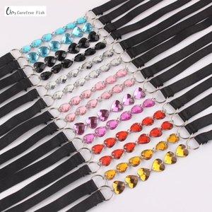 Bra elastico cinghie nuovo di modo cinghie del reggiseno 2020 delle donne Original Design sexy decorativi regolabile Intimates Accessori JD-1037